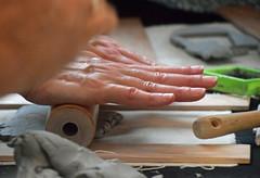 Roll Out a Piece (MTSOfan) Tags: art work mosaic creation clay beastofafeast appreciation epz