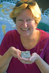 One Finished Tile (MTSOfan) Tags: art work mosaic creation clay beastofafeast appreciation epz