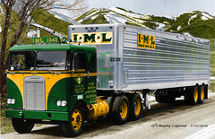 Kenworth IML Colorized (gdmey) Tags: kenworth iml fallenflag colorized trucking truck