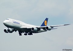 LUFTHANSA B747 D-ABYH (Adrian.Kissane) Tags: sky plane germany outdoors frankfurt aircraft aviation jet aeroplane landing german airline boeing lufthansa 747 jumbojet airliner b747 arriving 748 dabyh 1662018 37832