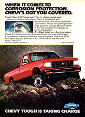 1984 Chevrolet Chevy S-10  Pickup Truck USA Original Magazine Advertisement (Darren Marlow) Tags: 1 4 8 9 19 84 1984 c chev chevy chevrolet s 10 s10 p pickup t truck car cool collectible collectors classic a automobile v vehicle u us usa united states american america 80s