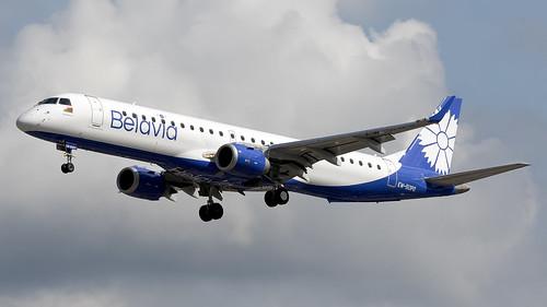 Belavia EW-513PO E190 EGCC 22.06.2019