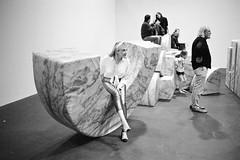 Comfy sofa (titan3025) Tags: leica leicam6 ilford hp5 blackandwhite monochrome filmisnotdead grainisgood art basel 2019 artbasel