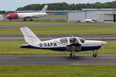 G-SAPM TB20 Trinidad Prestwick 16.06.19 (Robert Banks 1) Tags: gsapm socata tb20 trinidad prestwick egpk pik