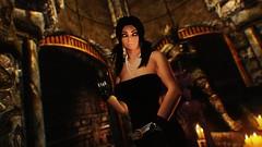 Felicia Ferwind (XMymy007X) Tags: skyrim enb tesv lady sexy black