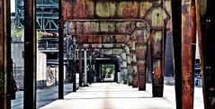 Ein langes Stück Henrichhütte in Hattingen (RPGB) Tags: hattingen steelfactory stahlwerk stahleisen iron tunnelrust rost decay verfall ruhrgebiet ruhrrevier ruhrpott kohlenpott pott revier ruhrarea ruhrvalley