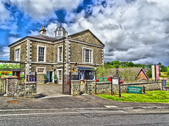 THE COURT HOUSE IN MARKETHILL (Monkiiiey Henry Clark) Tags: the court house in markethill