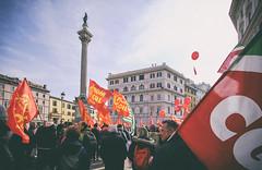 DSCF7302 (Alessandro Gaziano) Tags: foto fotografia alessandrogaziano manifestazione italia people gente colori colors street reportage roma visioni italy diritti