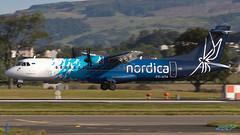 ES-ATA ATR-72-600 Nordica (Stobart Air) (kw2p) Tags: atr atr72600 aircraft airlineoperator airport aviation egpf esata nordica airline aeroplane airplane flying flight kw2p scotland canon canon7dmkii 7dmkii gaaec glasgowairport egpfgla