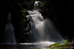Waterfall in the last light of the day (hardy-gjK) Tags: wasserfall waterfall water wasser germany deutschland black forest schwarzwald light late hardy nikon nd filter