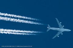 B744_8V2604 (NBO-DSA)_TF-AMM (FL34)_1 (VIE-Spotter) Tags: vienna wien overflight boeing 747 747400 cargo astral aviation jumbo kondensstreifen contrail airplane
