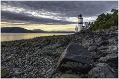 The Cloch 2 (Renton Lad) Tags: nikond850 nikkor2470mmf28 riverclyde firthofclyde lighthouse cloch seascape sunset gourock arrocharalps