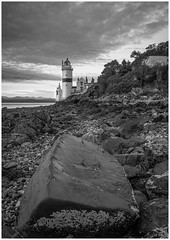 The Cloch (Renton Lad) Tags: nikond850 riverclyde firthofclyde cloch lighthouse glasgow sunset seascape gourock