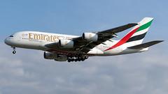 Emirates A6-EUN A380-861 EGCC 22.06.2019 (airplanes_uk) Tags: 22062019 a380 a6eun airbus aviation emirates man manchesterairport planes