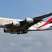 Emirates A6-EUN A380-861 EGCC 22.06.2019