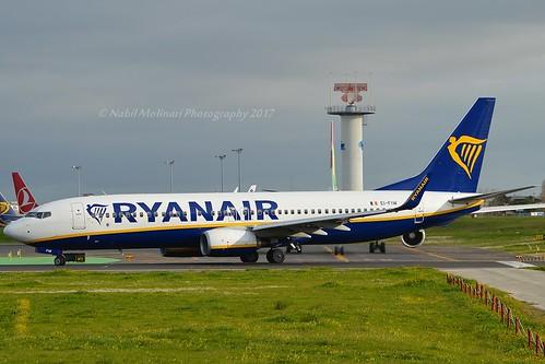 Ryanair EI-FIW Boeing 737-8AS Winglets cn/44706-5625 @ LPPT / LIS 10-01-2017