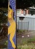 Pole Dancer (mikecogh) Tags: kilkenny stobiepole telegraphpole dance painting mural publicart lei streetart