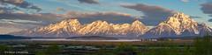 Sunrise On The Range (Vince Condella) Tags: 5images grandtetonnationalpark grandtetons pano wyoming mountains processedinluminar sunrise