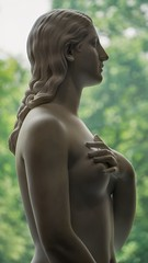 I've made a huge mistake (BenBuildsLego) Tags: hiram powers cincinnati art museum ohio neoclassical classical sculpture statue eve bible christianity adam naked nude beautiful backlit telephoto sony a6000