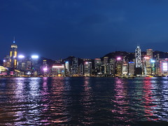 201905280 Hong Kong Admiralty, Central and Wan Chai (taigatrommelchen) Tags: china city skyline hongkong harbour central icon sight wanchai 20190522 admiralty ocean night