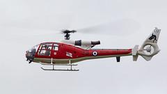 Gazelle (Bernie Condon) Tags: dunsfold wingswheels airshow surrey uk aviation aircraft flying display westland gazelle ht3 helicopter rn royalnavy trainer sa341d training military warplane