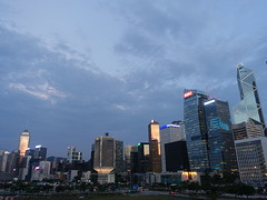 201905276 Hong Kong Admiralty, Central and Wan Chai (taigatrommelchen) Tags: 20190522 china hongkong admiralty central wanchai sight icon clouds city skyline