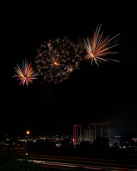 Firework Friday (43 of 51) (RaDel Hinckley) Tags: fireworks fireworksfriday friday kansascity kaufmanstadium royals