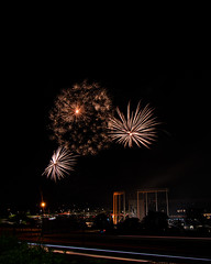 Firework Friday (41 of 51) (RaDel Hinckley) Tags: fireworks fireworksfriday friday kansascity kaufmanstadium royals