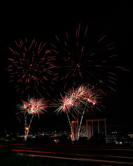 Firework Friday (21 of 51) (RaDel Hinckley) Tags: fireworks fireworksfriday friday kansascity kaufmanstadium royals