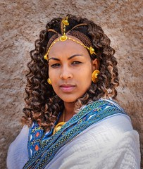 Tigray Bride (Rod Waddington) Tags: africa african afrique afrika äthiopien adigrat tigray ethiopia ethiopian ethnic ethnicity etiopia ethiopie etiopian bride wedding portrait people traditional tribe tribal culture cultural shamma hairstyle