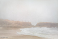 Low Visibility (HSS) (buffdawgus) Tags: canonef24105mmf4lisusm california sanmateocountycoast sanmateocounty foggyday canon5dmarkiii pescaderostatebeach topazstudio pescadero lightroom6 seascape californiacoast landscape marinelayer foggymorning fog