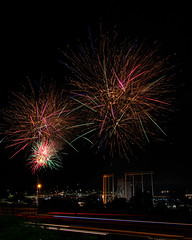 Firework Friday (49 of 51) (RaDel Hinckley) Tags: fireworks fireworksfriday friday kansascity kaufmanstadium royals