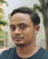 Fakhul (Peter Looker) Tags: streetportrait portrait punjabi bangladeshi singapore kodak portra portra400 mamiya rz67 film worker sekor naturallight