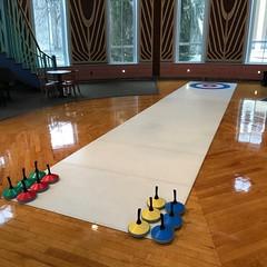 Unreal Ice Curling Rink in USA (Unreal Ice Rinks) Tags: artificial curling diversión ecologico event ecological eeuu fake fun gelo ghiaccio gel hielo ice indoor interior mobile portable unreal rinks rink portatil usa