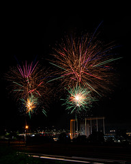 Firework Friday (47 of 51) (RaDel Hinckley) Tags: fireworks fireworksfriday friday kansascity kaufmanstadium royals