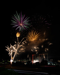 Firework Friday (37 of 51) (RaDel Hinckley) Tags: fireworks fireworksfriday friday kansascity kaufmanstadium royals