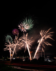 Firework Friday (36 of 51) (RaDel Hinckley) Tags: fireworks fireworksfriday friday kansascity kaufmanstadium royals