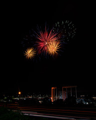 Firework Friday (18 of 51) (RaDel Hinckley) Tags: fireworks fireworksfriday friday kansascity kaufmanstadium royals