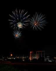 Firework Friday (13 of 51) (RaDel Hinckley) Tags: fireworks fireworksfriday friday kansascity kaufmanstadium royals