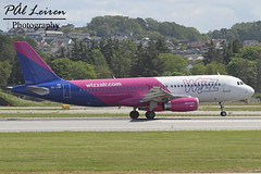 Wizz Air - HA-LWN - 2019.06.22 - ENZV/SVG (Pål Leiren) Tags: wizz air halwn wizzair stavanger sola norway svg enzv flyplass airport planes plane planespotting aviation aircraft runway rw airplane canon7d 2019 airliner jet jetliner june june2019 airbus a320232a320