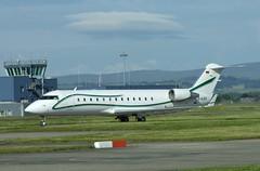 D-AJOY (Gary Kenney Aviation) Tags: canadair crj200 dajoy germany glasgow airport bizjet