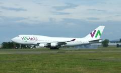 EC-MRM (Gary Kenney Aviation) Tags: boeing 747 jumbo wamos vamos spain aircraft glasgow airport