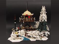 06 (PigletCiamek) Tags: lego warcraft2 orc watchtower