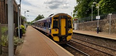 Abellio Scotrail Class 158 158715 departing Maryhill Station Platform 2 with service 2W59 (22-06-19) (Rikki Cameron) Tags: trains abellio scotrail class158 express sprinter 158715 brel
