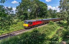 33021 | Basford Curve | 22nd June '19 (Frank Richards Photography) Tags: 33021 eastleighh class33 sulzer cvr churnet valley railway rail moorlands staffordshire cheddleton summer red post office class 33 consall basford curve uk england staffs crompton