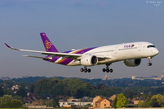 Thai Airways (ab-planepictures) Tags: thai airways airbus a350 bru ebbr plane aircraft planespotting airport aviation flugzeug flughafen brüssel