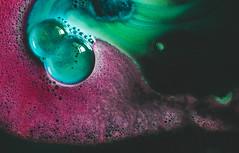 IMG_3599.jpg (J. Adams.) Tags: shiny bright pretty abstract pattern bubbles bubble rainbow colours colour colors color water closeup macro f28 2428 wideangle 24mm 6dmark2 6dmarkii 6dmk2 6dmkii canon