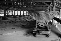 on top of a furnace (mkniebes) Tags: brickworks furnace industriekultur industriemuseum industrialculture industrialheritagetrail witten zechenachtigall blackandwhite shallowdepthoffield