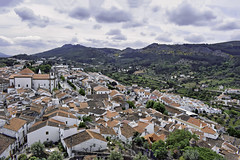 Castelo de Vide (Jocelyn777) Tags: landscapes mountains sky clouds cityscapes trees foliage buildings architecture villages towns historictowns castelodevide alentejo portugal travel