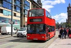 Coming soon at Princess street (Chris Baines) Tags: ex lothian dennis trident plaxton president v526 esc open top princess street edinburgh 32726